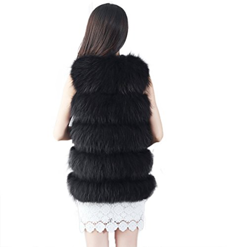 AOURI - Manteau sans manche - Femme Noir