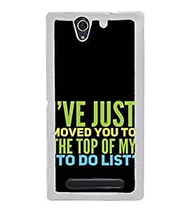 ifasho Designer Back Case Cover for Sony Xperia C4 Dual :: Sony Xperia C4 Dual E5333 E5343 E5363 (Noun Association With An Organization Entertainment Agencies)
