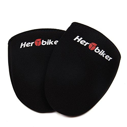 preadvisor (TM) Sport d'hiver cyclisme Porter Vélo Chaussures orteils de Protection de vélo chaud chaud de coffre noir 1paire taille EUR 39-44