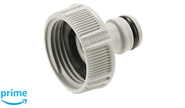 Gardena Premium Threaded Tap Hose Pipe Connector 33.3mm