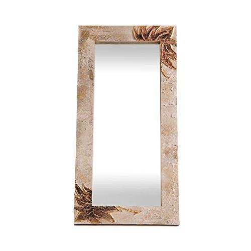 Lohoart L-1151-2 - Espejo Sobre Lienzo Pintado Artesanal