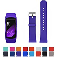 For Samsung Gear Fit2 SM-R360 Sports Band Smartwatch Replacement Watch Band - iFeeker Accessories Soft Silicone Wristband Strap Smartwatch Bracelet Band for Samsung Gear Fit 2 SM-R360 Sport Watch