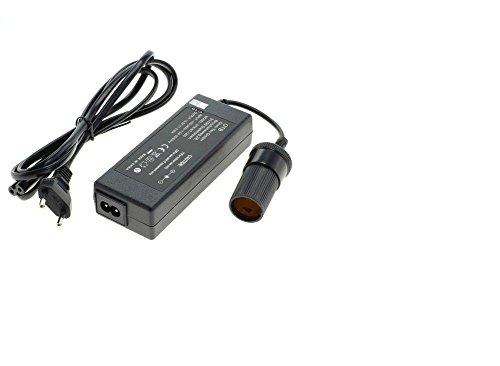 Preisvergleich Produktbild Spannungswandler 220V AC auf 12V/6A DC mit Zigarettenanzündersteckdose