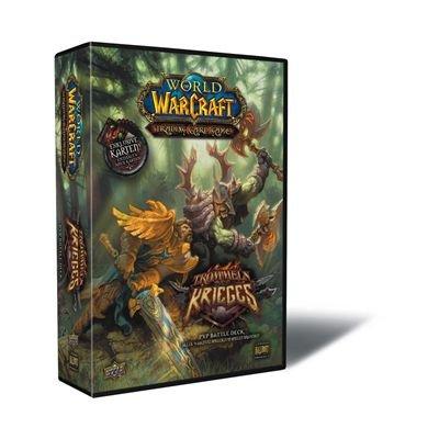 Preisvergleich Produktbild Upper Deck 221125 - TC World of Warcraft 2 Spieler Starter Deck - Trommeln Des Krieges (deutsch)