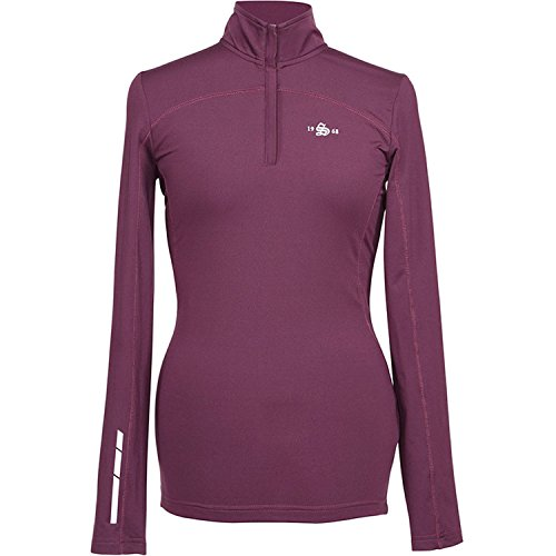 Shires Beijing Base Layer Top Plum