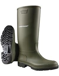 Dunlop Men's Green Wellington Boot - 10 UK/44 EU