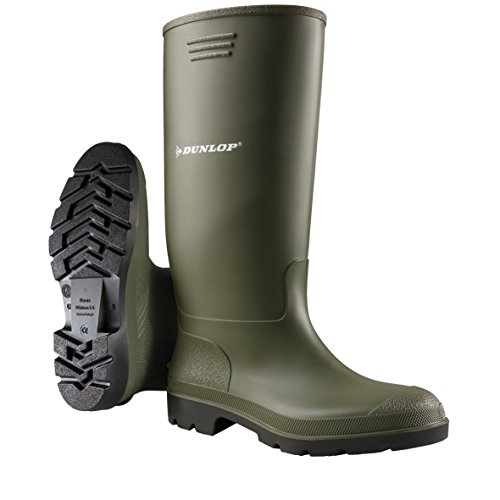 Dunlop Protective - Pricemastor, Botas de Goma Trabajo Unisex Adulto, Verde (Green 001), 39 EU
