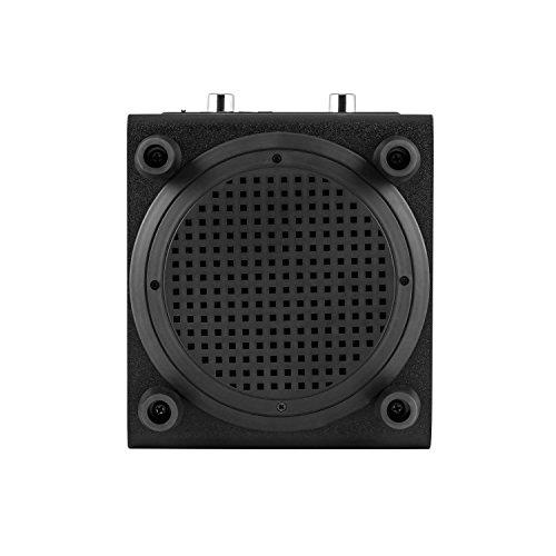 auna DiscoStar Blue • 2.1 Bluetooth-Lautsprecher • Radio • UKW-Radiotuner • 30 Speicherplätze • MP3 • SD • USB • Mini-USB • AUX • Mikrofon • LED-Lichteffekt • Akku • tragbar • blau - 6