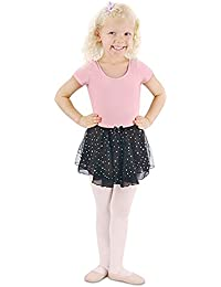 5223e547006c1 Danshuz Toddler Little Girls Black Skirt Hologram Dot Dancewear 2T-7