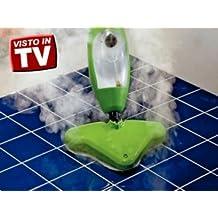 H2O Mop X5 - Scopa a vapore, portatile, 5 in 1, multiuso, leggerissima COME QUELLA VISTA IN TV