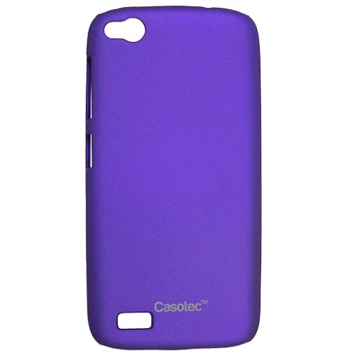 Casotec Ultra Slim Hard Shell Back Case Cover for Gionee Elife E3 - Purple  available at amazon for Rs.175