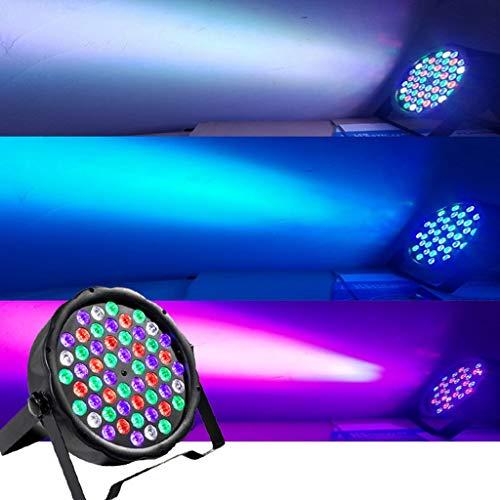 Iluminación Partido Par LED Ultravioleta 754x3W Color DMX512 Par del Partido del Disco de DJ...