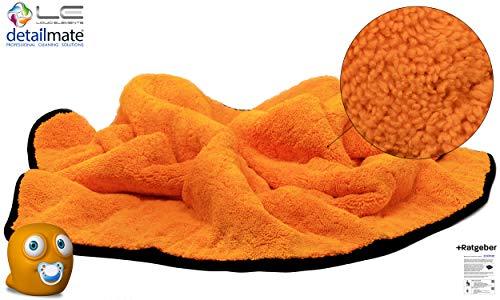 detailmate Liquid Elements - Orange Baby XL - Mikrofaser Trocknungstuch - 90x60cm - 800GSM Pflegeratgeber
