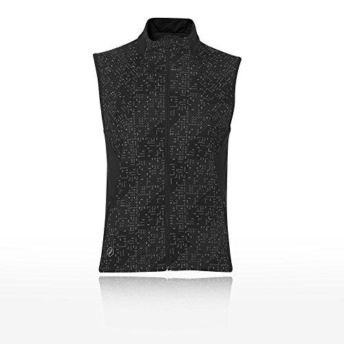 Asics Lite Show Vest Lite Stripe Performance Black L