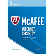 McAfee MIS Internet Security 2017 - 3 Dispositivi