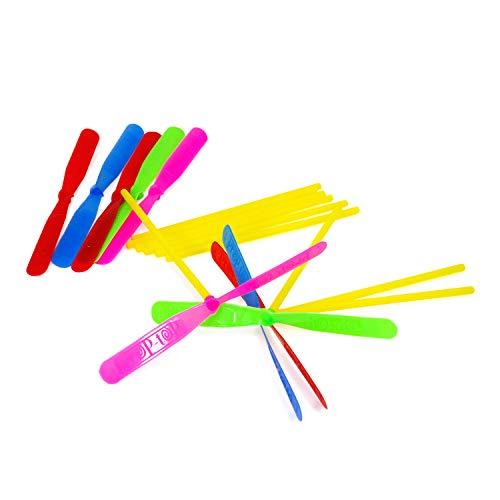 Oblique Unique® 12 Flug Propeller Flugspiel Bunt Farbmix Kinder Spielzeug für Kinder Geburtstag Geschenk UVM.