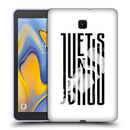 Head Case Designs Offizielle Juventus Football Club Schal 2018/19 Grafik Logo Soft Gel Huelle kompatibel mit Galaxy Tab A 8.0 (2018) -