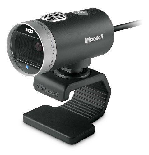 Price comparison product image Microsoft LifeCam Cinema - webcams (1280 x 720 pixels,  2880 x 1620 pixels,  USB 2.0,  Black,  CMOS,  Intel Dual-Core,  1.6 GHz)