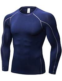 58ced95f1d38 Minghe - Camiseta térmica - para Hombre