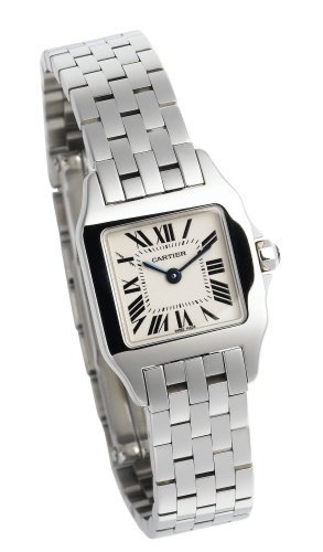 Cartier W25064Z5 - Reloj de pulsera mujer, color plateado