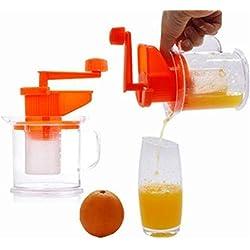 Machine à lait de soja Manuel Fabrication de jouets avec petits agrumes Orange Presse-fruits Citron Extracteur de centrifugeuse Portable Multi-Function Socialme-EU Presse-agrumes manuel