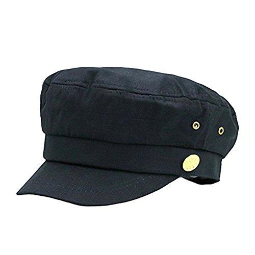 Imagen de cerrado  militares hombre mujer monocromático admiral marinero capitán sombreros negro