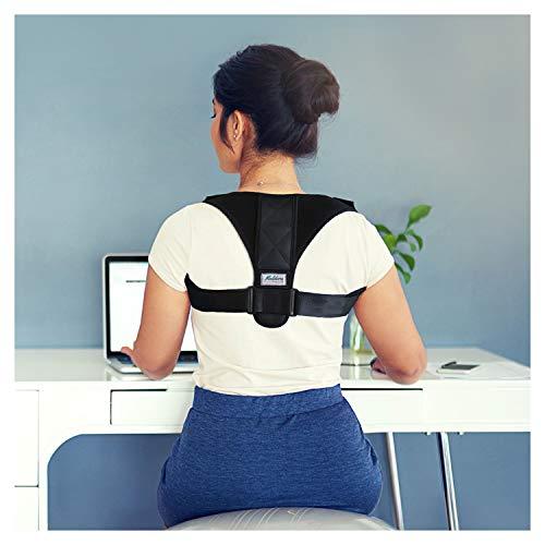 Premium Unisex postura Corrector ajustable (24'-44) by VIAN atención clavícula apoyo Brace–orthopedist diseñado chaleco–Hombres y Mujeres–mejorar la mala postura, hombro alineación