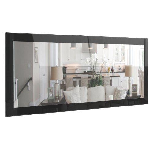 miroir-mural-lima-139cm-en-noir-haute-brillance