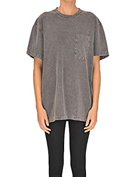 Stella McCartney Mujer MCGLTPS000005001E Gris Algodon T-Shirt