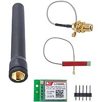 DIYmall SIM800L Modulo Antenna GPRS PCB automatico con Slot per