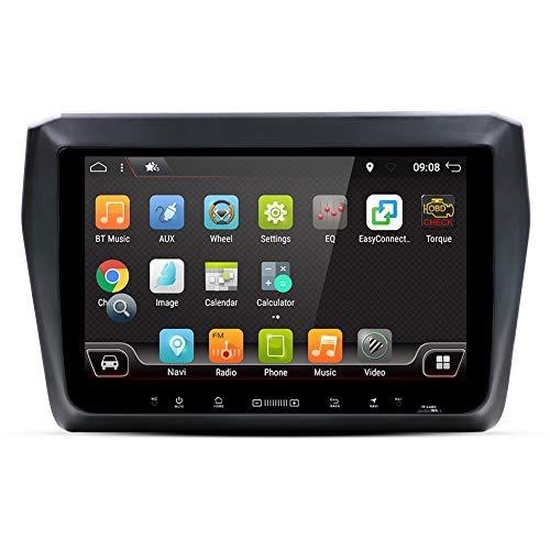 Double DIN stéréo de voiture, voiture Audio avec en Dash GPS Système de Navigation pour Suzuki Swift 2017, 2 DIN radio de véhicule avec Android 9\