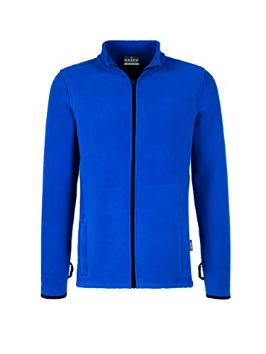 Hakro Herren Heavy Fleece Jacke Manitoba Royal
