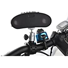 Sistema de S recargable Bluetooth Altavoz TF y reproductor de mp3Manos libres para manillar de bicicleta
