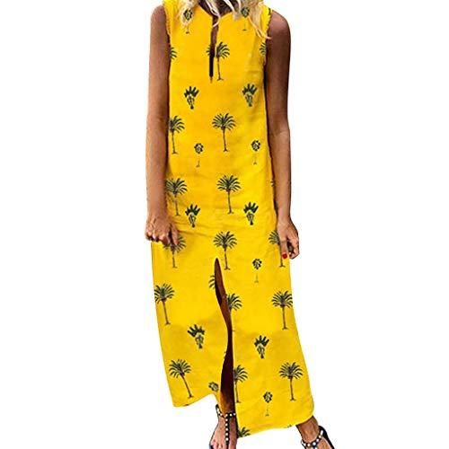 22357cf4b2 Momoxi Abito Cerimonia da Donna Vestito da Partito di Stampa Adatta di Slim  Fit del Collo