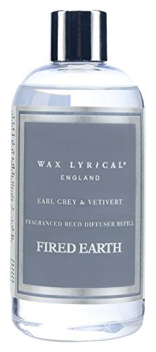 Fired Earth Earl Grey et Vetivert Recharge pour diffuseur