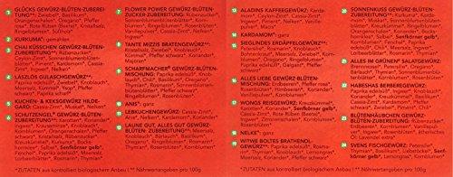 Sonnentor Gewürz-Adventskalender, 1er Pack (1 x 116 g) - Bio - 3