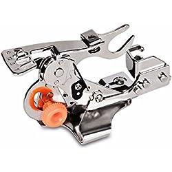 Pied presseur fronceur pour machine à coudre, convient à toutes les machines à basse tige