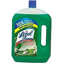 Lizol Disinfectant Surface & Floor Cleaner, Jasmine - 2 L