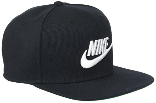 Imagen de nike u nsw pro cap futura hat, unisex adulto, pine green/black/white, misc alternativa