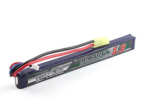 Turnigy nano-tech 1300mah 2S 25-50C Lipo Softair Akku Pack von Modellbau Eibl