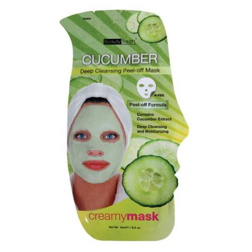 (3 Pack) BEAUTY TREATS Cucumber Deep Cleansing Peel-off Mask - BT204C