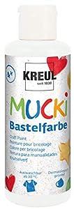Mucki 24101-Pintura acrílica (80ml, Color Blanco