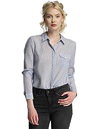 VERO MODA Damen Bluse Vmbasa L/S Midi Shirt Dnm A
