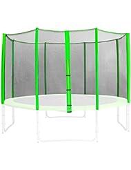 SixBros. Filet de sécurité de rechange vert pour trampoline de jardin 1,85 M - 4,60 M - dimensions différentes - SN-ON/1952 - Taille 3,05 m 3L