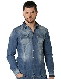 Deeluxe 74 - Chemise Homme En Jeans