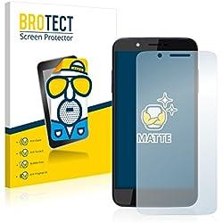 BROTECT Protection Ecran Mat Compatible avec Archos 55 Helium 4 Seasons [2 Pièces] - Anti-Reflet