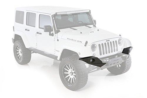 Jeep - Wrangler JK 2/4 porte, (2007-2014), con piastre finali a tutta larghezza per il paraurti anteriore Smittybilt M.O.D. XRC Fuoristrada 4x4 Greggson