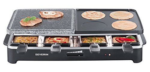 Severin RG 2341 Raclette Party Grill Multifunzione...