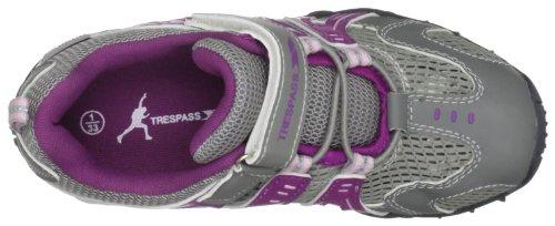 Trespass  Buga, Chaussure de sport mixte Gris - Prune