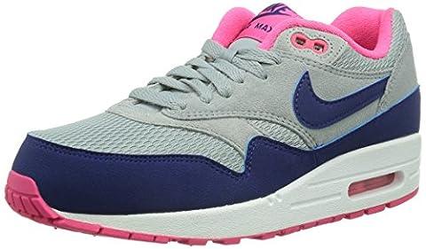Nike WMNS AIR MAX 1 ESSENTIAL, Chaussures basses femme - argenté - Plateado (grau), 38 EU